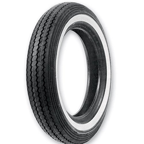 Tire Wide 240 (Shinko 240 Classic MT90-16 Wide Whitewall Front/Rear Tire 87-4111)