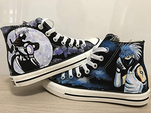 - Naruto Kakashi Anime Hand Painted Shoes High Top Sneakers For Women Hand Painted Shoes Custom Chuck Taylors Chuck Taylor High Top FREE SHPPING