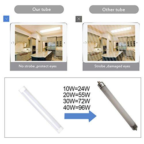 3FT LED Batten Light T10 Tube Lamp 3000K Wall Lamps Dust
