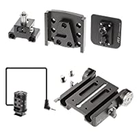 JTZ DP30 15mm Stand Base Plate Clamp and JTZlink Hub Adapter JLA-1 for Canon C100 C300 C500 Mark I II Camera from JTZ