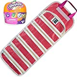 EASYVIEW Season 1 Halloween Pumpkin Blind Bag, Shopkin with a Compatible Toy Case Organizer Bundle (Pink)