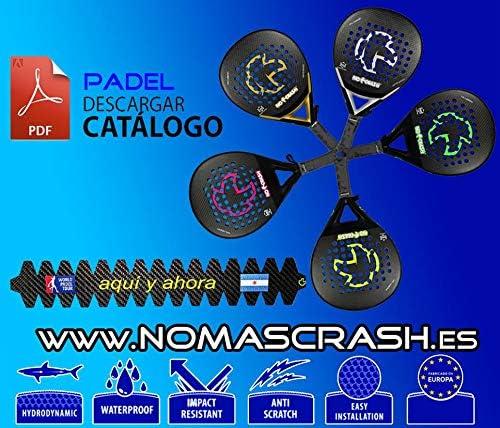 nomascrash Protector Pala/Raqueta de Padel Padlle 100% Carbono ...
