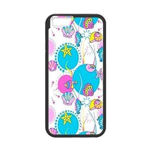 IPhone 6 Plus Sea creatures Phone Back Case Custom Art Print Design Hard Shell Protection DF093622