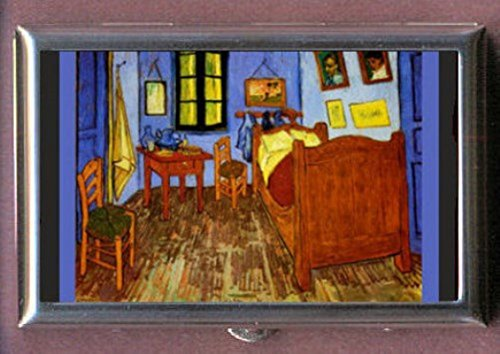 Vincent Van Gogh Bedroom at Arles Art Decorative Pill Box