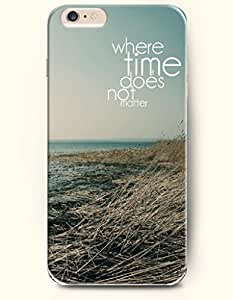 iPhone 6 Case,OOFIT iPhone 6 Plus (5.5) Hard Case **NEW** Case with the Design of Where time does not matter - ECO-Friendly Packaging - Case for Apple iPhone iPhone 6 Plus (5.5) (2014) Verizon, AT&T Sprint, T-mobileKimberly Kurzendoerfer
