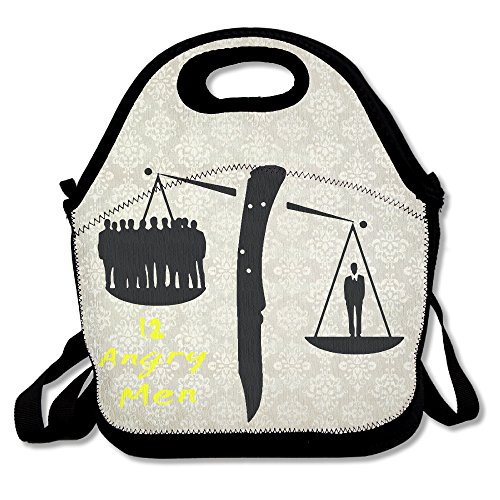 IOH 12 Angry Men Bento Lunch Bag Portable Cooler Tote