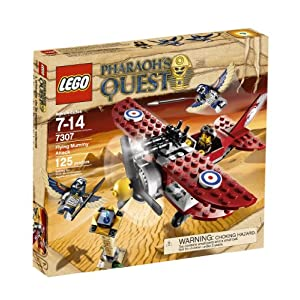 LEGO Pharaoh8217;s Quest Flying Mummy Attack 7307 - 51k7cv3t 2BSL - LEGO 7307 Pharaoh's Quest Flying Mummy Attack