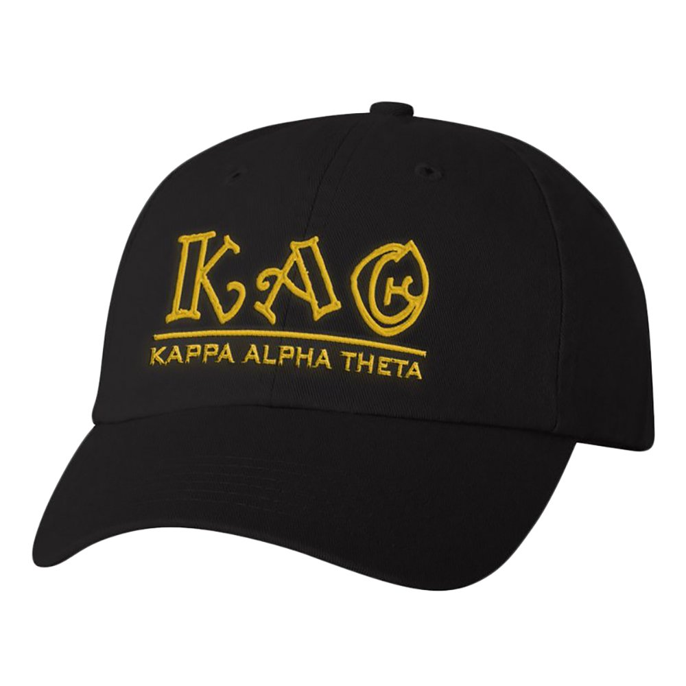 Greekgear Kappa Alpha Theta Peppermint Outline Sorority Line Hat