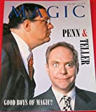 Magic: The Independent magazine for Magicians (July 2001, Vol. 10, No. 11) Penn & Teller: Good Boys of Magic?