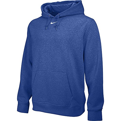 Nike Team Club Fleece Hoody - Sudadera para hombre Azul (Tm Royal / Tm Blanco)