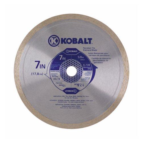 Kobalt Porcelain Tile Diamond Blade