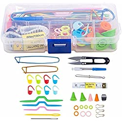 Tools Kits Lots with Case for Knitting Craft Accessories Supply Set Basic New