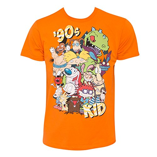 nickelodeon-mens-ren-and-stimpy-rugrats-and-classic-show-characters-t-shirt-neon-orange-small