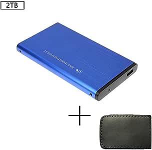 MOWE Backup Plus Slim 2TB External Hard Drive Portable HDD - USB 3.0 for PC Laptop Fast Transfer Large Storage