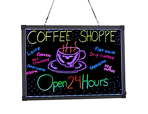 D Illuminated Hanging Message Writing Board (20