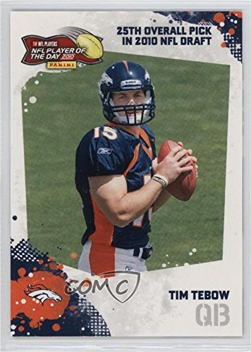 Tim Tebow #/100 (Football Card) 2010 Panini NFL Player of the Day - [???] #POD-TT1
