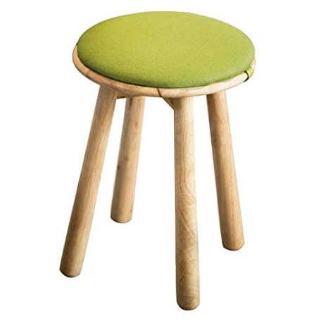 Prime Amazon Com Zhangqiang Round Stool Sturdy Stool Chair Ocoug Best Dining Table And Chair Ideas Images Ocougorg