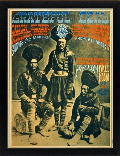 Grateful Dead Framed Concert Poster