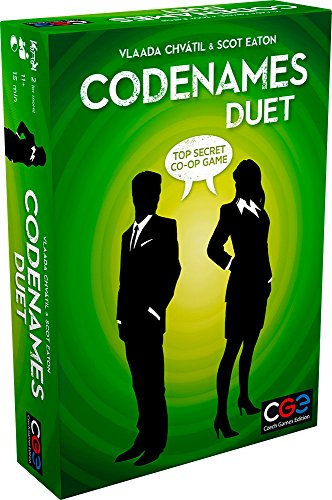 Codenames: Duet - The Two Player Word Deduction Game (Code Names For Best Friends)
