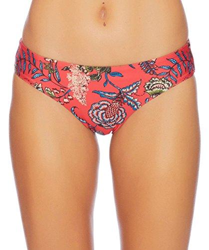 Ella Moss Women's Retro Swimsuit Bikini Bottom, Floral Romance Multicolor, Small