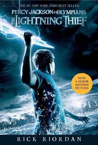 The Lightning Thief by Riordan, Rick. (Disney-Hyperion,2010) [Paperback]