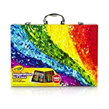 Crayola Inspiration Art Case (140 Pieces) with Crayons, Art Tools, Colored Pencils, Washable Markers, Paper and Portable Storage