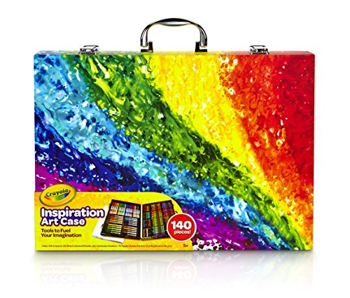 Crayola Inspiration Art Case: 140 Pieces, Art Set, Gift for Kids and Adults - Kid Kit Box