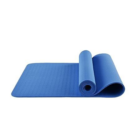 LQBDJYJD - Colchoneta de Yoga, Color Azul: Amazon.es: Hogar
