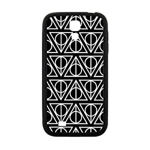 Simple black triangle pattern Cell Phone Case for Samsung Galaxy S4 by runtopwell
