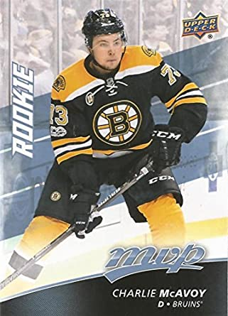 038e0b4bb Amazon.com: 2017-18 Upper Deck MVP Hockey RC SP #232 Charlie McAvoy ...