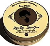 Product review for Quality Heavy Duty Premium Unscented Beard Balm & Wax 2oz Leave-In Conditioner with Argan Oil & Shea Butter - 100% Natural-Growth Promoting Organic Oils
