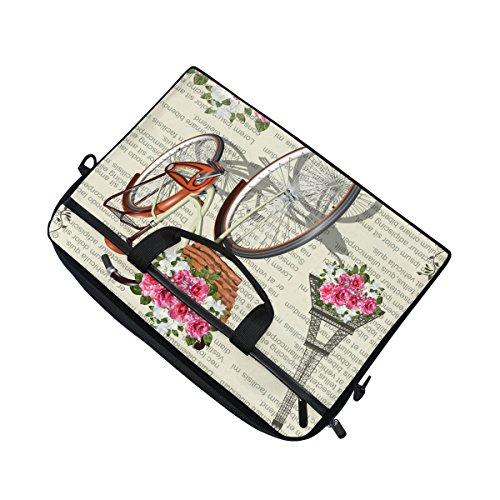 jstel Paris Vintage Laptop Schulter Messenger Tasche Fall Sleeve für 35,6cm zu 39,6cm mit verstellbarer Notebook Schultergurt