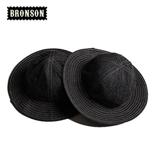 Bronson Daisy Mae World War Ii Ccc Tannin Work Cap Army Denim Hat  L 58 60Cm