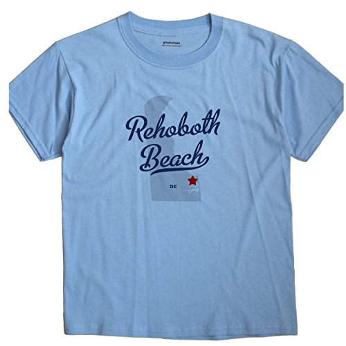Rehoboth Beach Delaware DE MAP GreatCitees Unisex Souvenir T - Beach In Rehoboth Shops