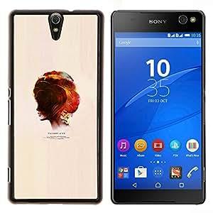 YiPhone /// Prima de resorte delgada de la cubierta del caso de Shell Armor - Última nosotros Juego - Sony Xperia C5 Ultra