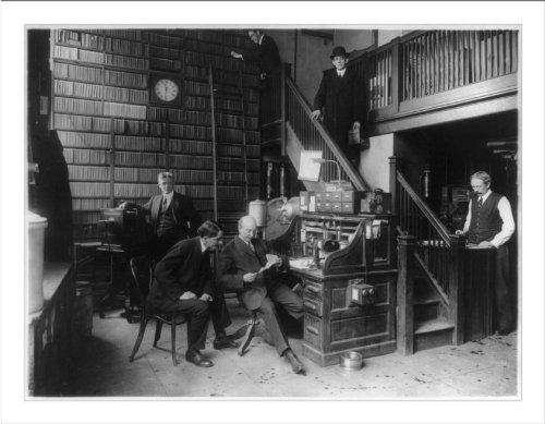 Historic Print (L): Newspaper Publishing - Photo Dept. N.Y. World
