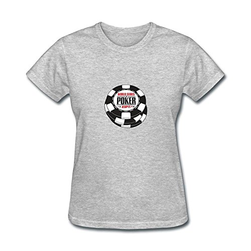 Wsop Poker Shirts - JXK Women's World Series Of Poker WSOP 2016 Logo T-shirt Size M ColorName