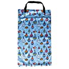 Large Hanging Wet Dry Bag for Cloth Diapers or Laundry (Balloon)