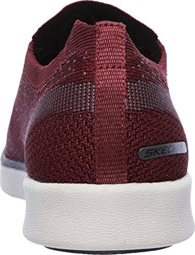 Skechers Uomo Relaxed Fit-boyar-molsen Sneaker Burgundy
