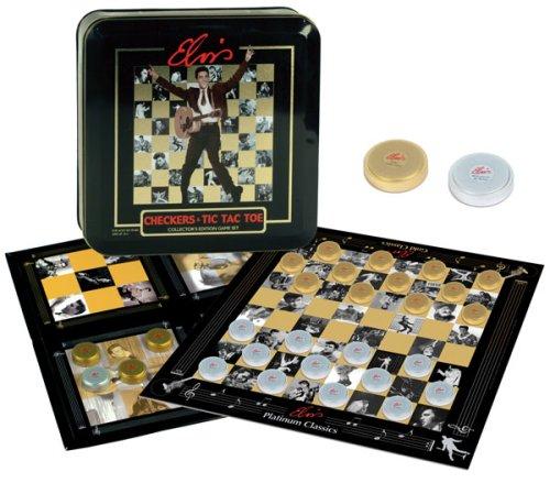Elvis Checkers/Tic Tac Toe