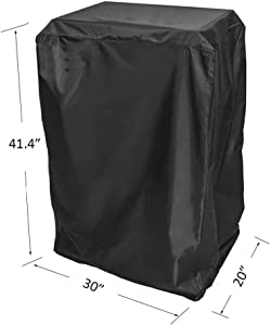 """BBQ funland Cover for Masterbuilt 40"""" propane smokers and others, Black"""