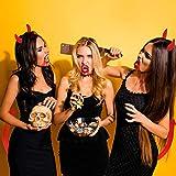 Halloween Devil Costume Set Devil Horn Headband