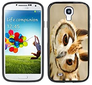 Owl Barn Handmade Samsung Galaxy S4 Black Bumper Hard Plastic Case