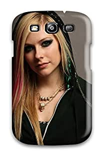 Galaxy S3 Celebrity Avril Lavigne Print High Quality Tpu Gel Frame YY-ONE by lolosakes