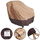Canyon Creek Cabinets Furinho Bush - Waterproof Outdoor High Back Patio Rattan Chair Seat Furniture Cover Protection YRS 1037