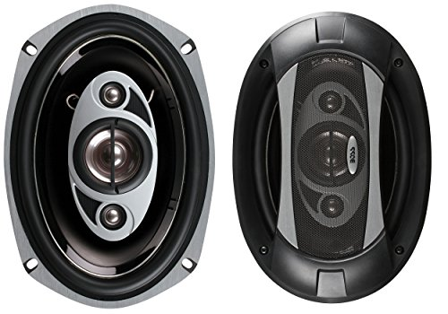 BOSS Audio P69.4C 800 Watt (Per Pair), 6 x 9 Inch, Full Range, 4 Way Car Speakers (Sold in Pairs) (F-150 1988 A/c Ford)