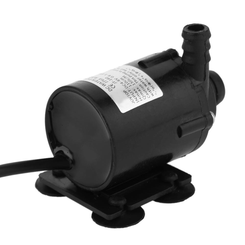 Niederdruck Micro Brushless Motor Wasser Tauchpumpe DC 6/V 12/V Solar K/ühlung 200L//H