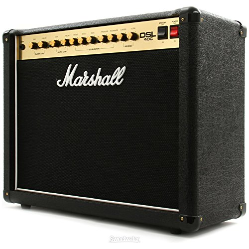"Marshall DSL40C 40 Watt All Tube 2-Channel 1x12"" Combo Amp w"