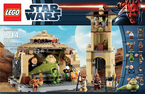 - LEGO Star Wars 9516 Jabba's Palace (Discontinued by manufacturer)