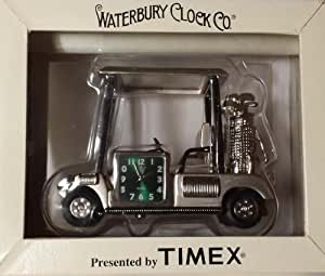"Waterbury Collectible Mini-clock "" Golf Cart """